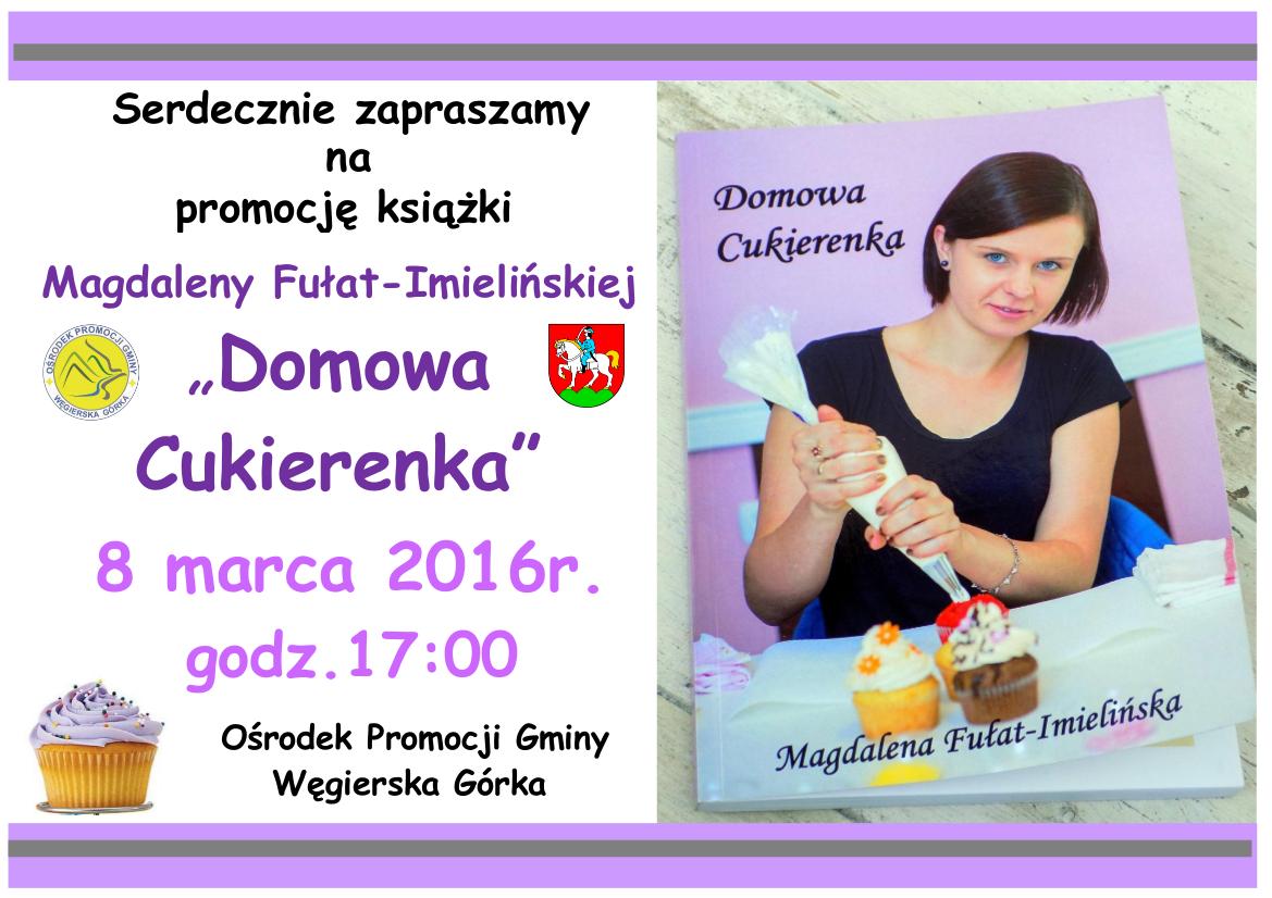 Promocja Ksiazki Domowa Cukierenka Piotr Tyrlik